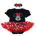 New Baby Clothes Set Bebe Rompers Suits for Girls Toddler Infant Baby Romper Dress 2017 Christmas Gift Newborns Grows Playsuit