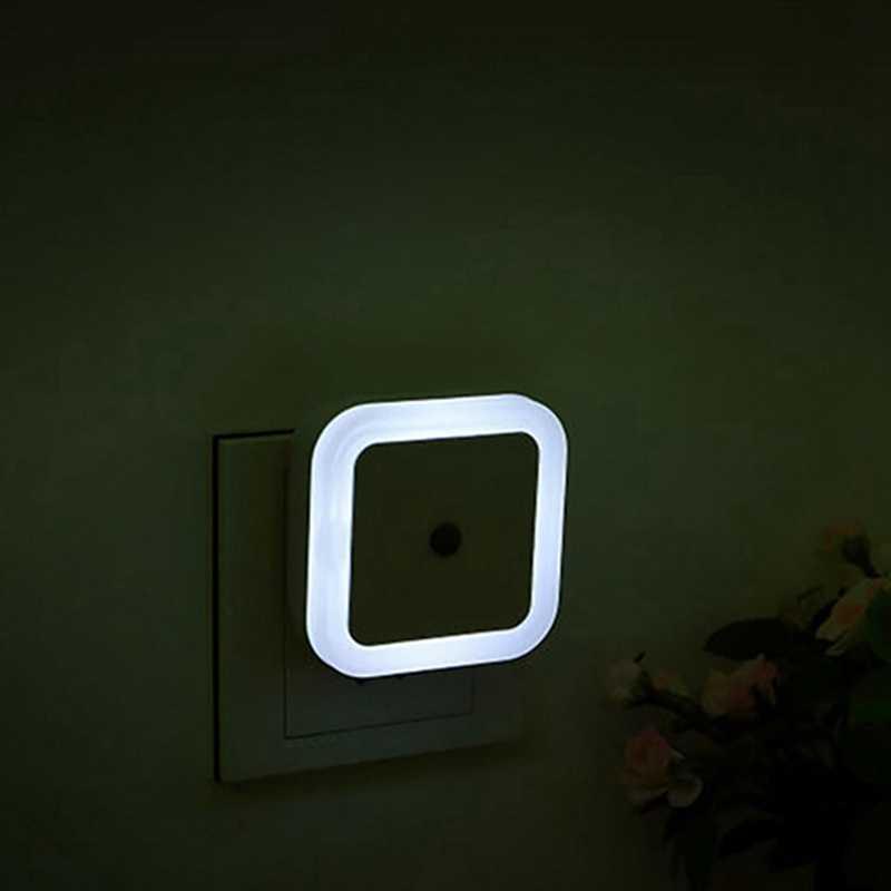 Hoomall 1 шт. EU/светодио дный US Plug Светодиодный Ночник Автоматическое включение/выключение сенсор управление ночные светильники дома спальня бра для маленьких детей