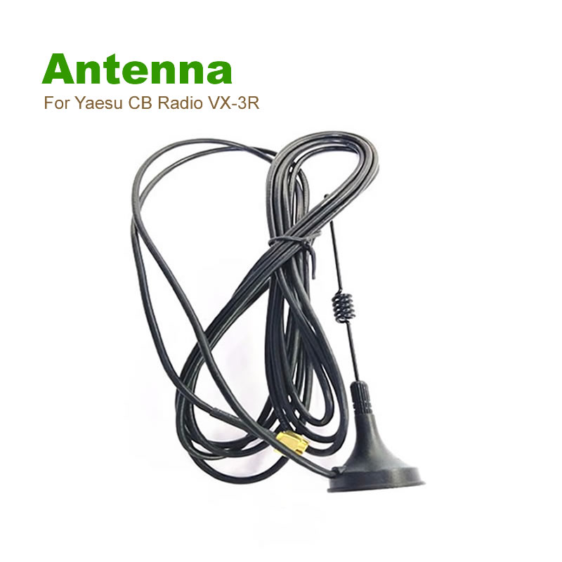 bilder für MINI Dual Band SMA-M UHF Auto Antenne Magnetfuß Für Yaesu CB Radio VX-3R VX-5R VX-6R VX-7R VX-8R VX-150 VX-160