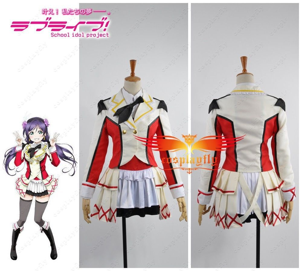 Love Live! School Idol Project Season 2 Nozomi Tojo Cosplay Costume Any Size Sexy Mini Skirt Woman Summer Dress (W0441-2)