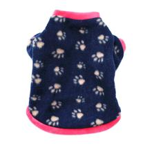 Warm Fleece Pet Dog Clothes Cute Skull Printed Coat Puppy Dogs Shirt Jacket French Bulldog Pullover Camouflage Clothing