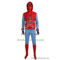 «Человек паук»; Бальные платья с принтом Человека паука Косплэй костюм, полный набор наряды удобное рождественское Быстрая доставка Хэллоу