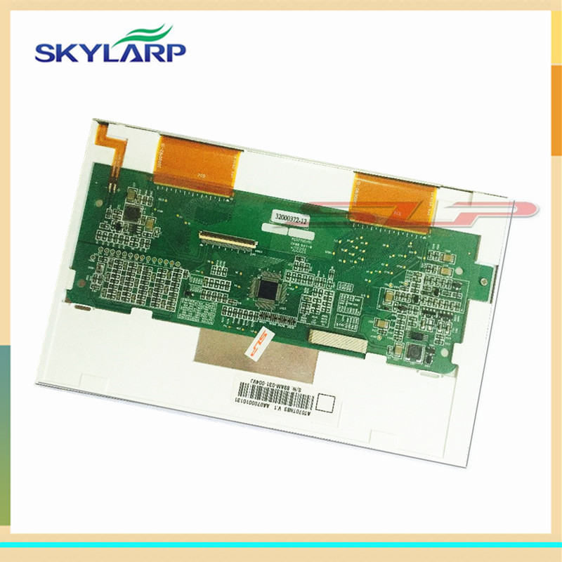 skylarpu 7 inch LCD screen for AT070TN83 V.1 LCD display screen panel for Car GPS/DVD display Free shipping (without touch) skylarpu new 5 1 inch lcd display screen panel for lmg7420plfc x lmg7420plfc embroidery machine lcd screen display panel