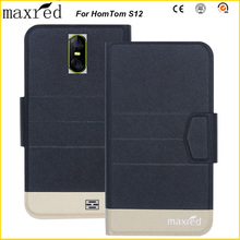 Maxred Original! HomTom S12 Case 5 Colors High Quality Flip Ultra-thin Luxury Leather Protective Case For HomTom S12 Cover new original 208 mm 4no 1e5 s12 warranty for two year
