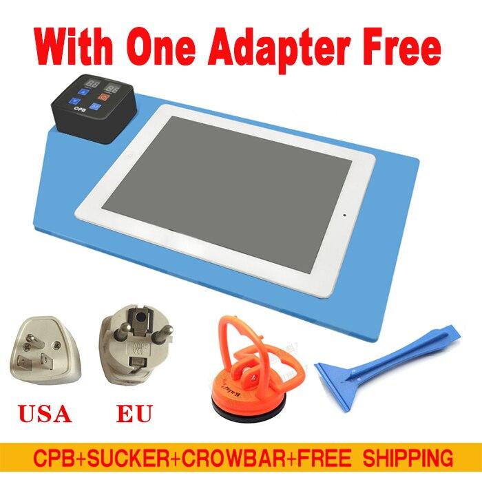 imágenes para Cpb pantalla lcd máquina separada herramienta de reparación para iphone 4 4s 5 5S 6 pad para samsung pantalla caja del tesoro envío gratis
