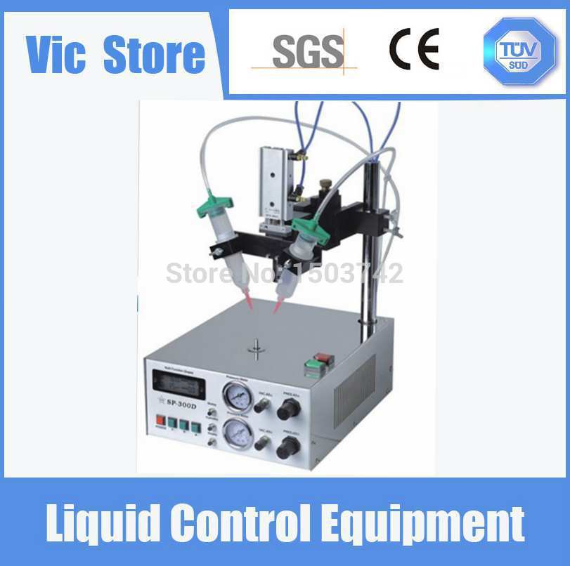 220V Auto Glue Dispenser Solder Paste Liquid Controller Dropper SP8000 Dispensing Machine With LED Screen hot 220v sp 8000 automatic numerical control type glue dispenser sp8000