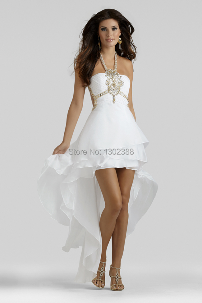 Sexy Short White Prom Dresses