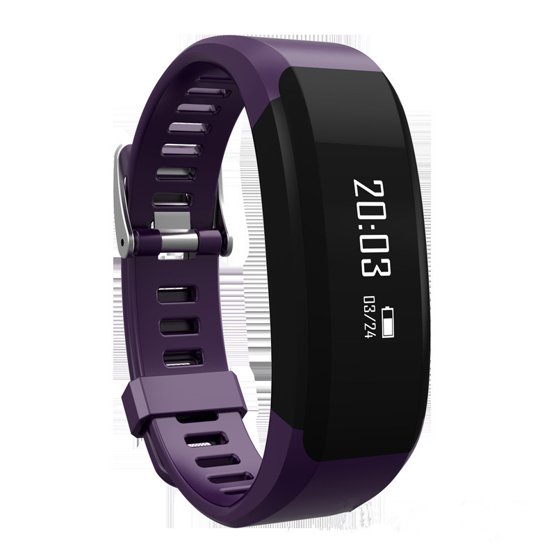 New font b Smart b font Bracelet Heart Rate Reloj Fitness Reminder Multifunctional Bracelet Connecte Stappenteller