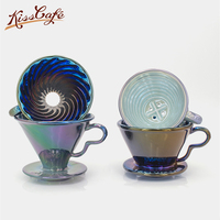 Laser Ceramic Coffee Cup Espresso Coffee Cup Filter Cups V60 Funnel Drip Hand Cup Filters Coffee Accessories For Competition