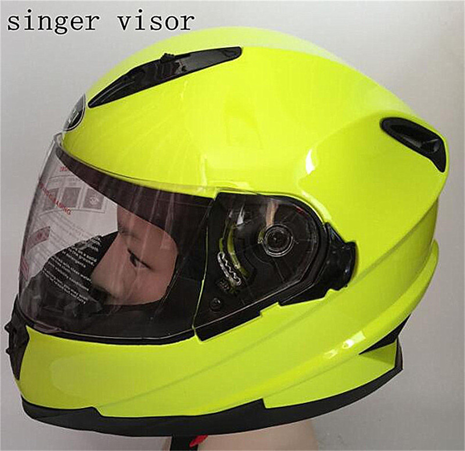 white helmet motorcycle helmets full face driving Cycling motocross helmet casco capacete casque Personality helmet