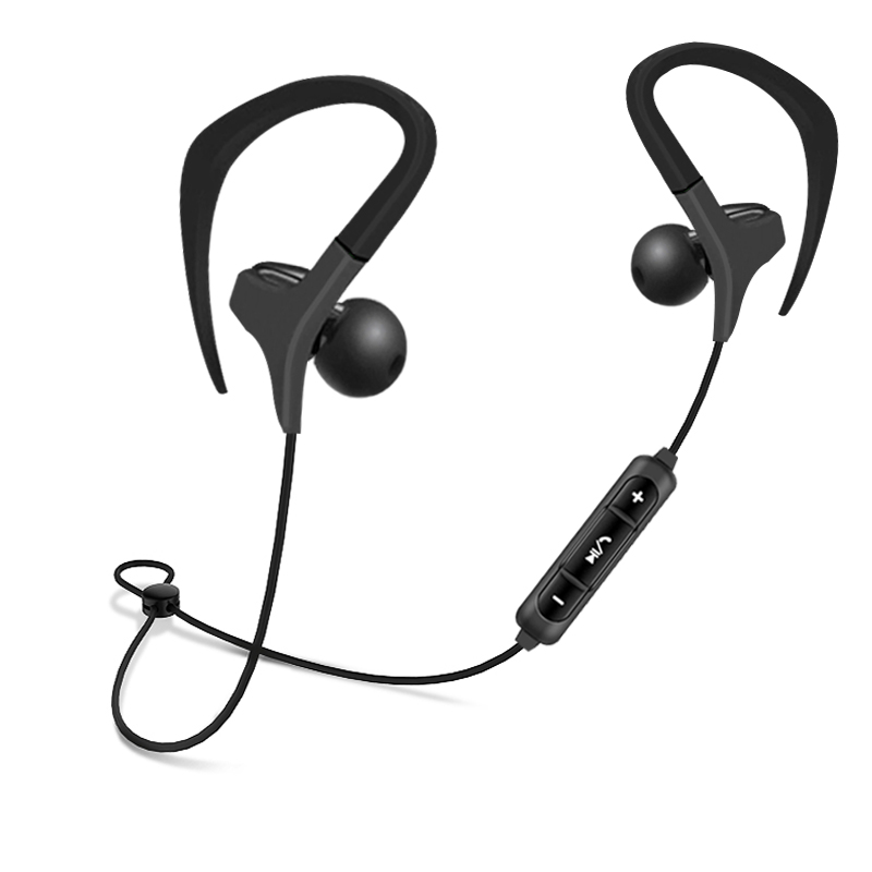 Bluetooth 4.2 REZ BX441 Headphone Running Earphone Wireless Headset Stereo Earbuds with Mic for Earpods Airpods bluetooth 4 2 rez bm5 earphone wireless headphone metal headset with microphone earbuds sport for earpods airpods