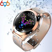 696 KW10 Smart Watch Women smart band Waterproof Smartwatch Heart Rate Monitoring Bluetooth For Android IOS Fitness Bracelet