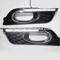For HONDA Civic 4pcs LED DRL Fog Lamp Daytime Running Light 2012 2014 Year V1
