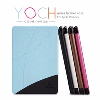 Case For IPad Mini 1 2 3 Retina Nillkin Smart Magnetic PU Frosted Leather Cover Slim