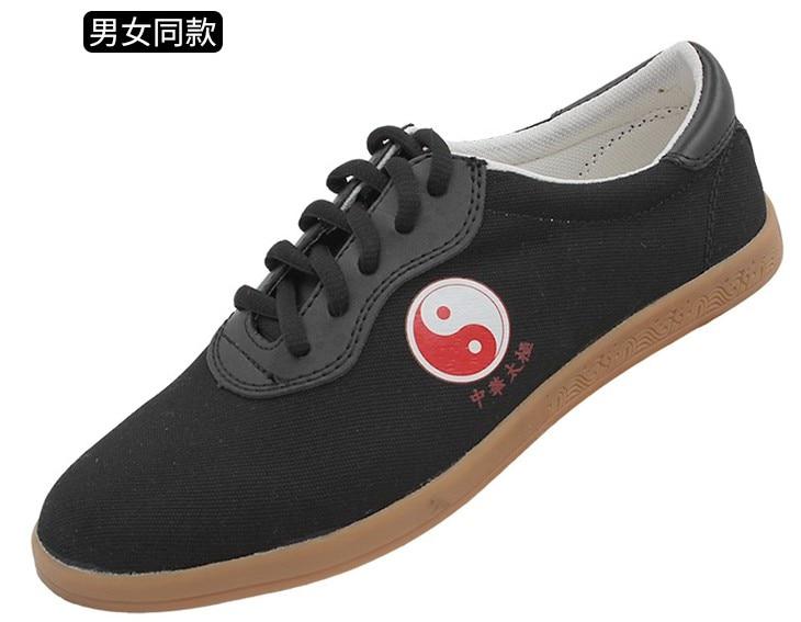 Size 34-45 Taichi Shoes Martial Art Shoes Taiji Shoes For Taichi Karate Taekwondo Wushu Training Black