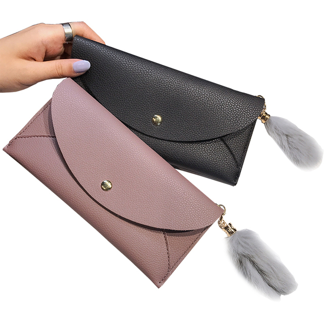 5d2199384512 Aliexpress.com : Buy High Quality Soft Leather wallet women vintage style  women wallets leather purse female credit card holder money bag pocket from  ...