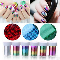 Nail Art Decorations 1 PC Sky Nail Foils Nail Art Transfer Sticker Decal Fashion DIY Nail