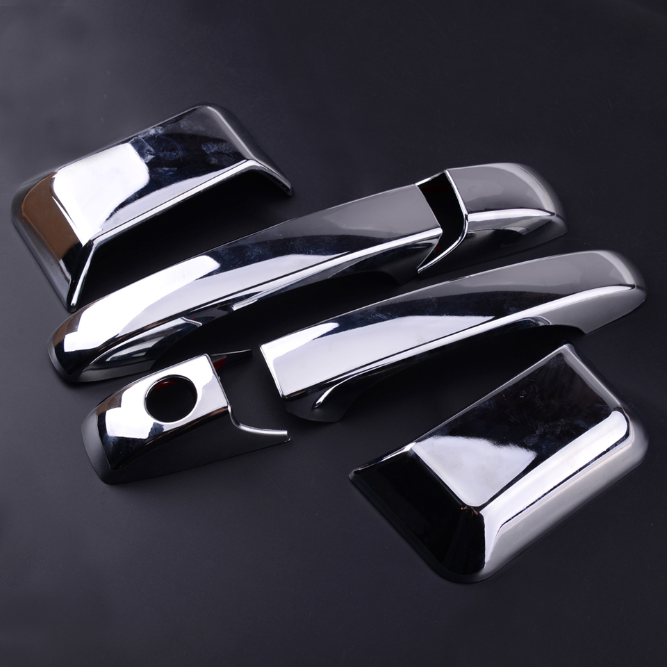 ABS Chrome Door Side Handle Cover Trim 6pcs For Jeep Compass 2011-2015