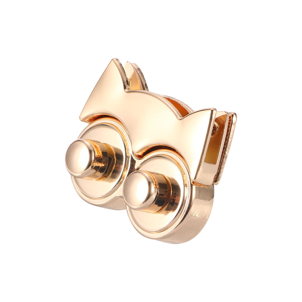 Cute Owl Bag Lock Metal Bag Accessories Buckle Twist Turn Lock Snap Clasps Closure For Purse Handbag Lovely Alloy Lock