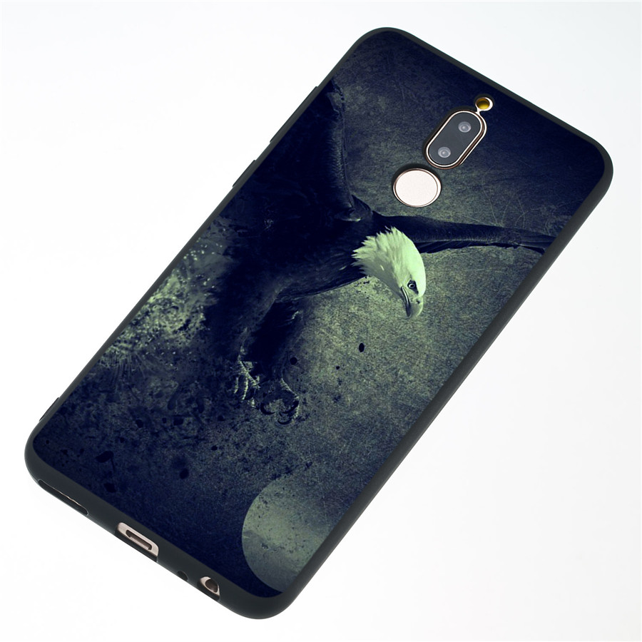 For Huawei Mate 10 Lite Case 3D Pattern Drawing Frosted Soft TPU Silicone Case For Huawei Mate 10 Lite Cover
