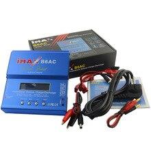 IMAX B6 AC 80 Вт B6AC Lipo NiMH 3 S/4S/5S RC батарея баланс зарядное устройство+ ЕС США AU Великобритания вилка силовой кабель