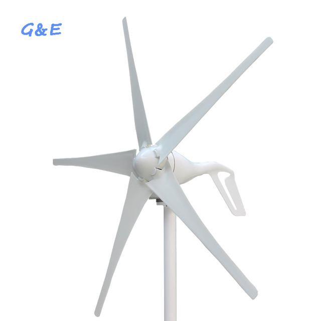 small 3 or 5 blades for option 300w 400w 12v 24v DC wind turbine generator
