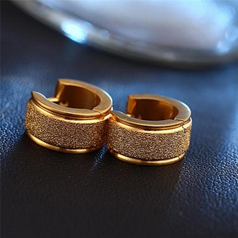 Aros 316L Stainless steel earrings for women men earings fashion jewelry brincos boucle doreille femme pendientes stud earing J4