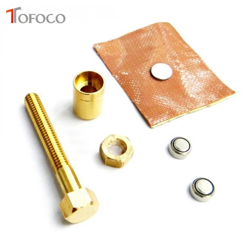 TOFOCO New Nut Off Bolt Screw Close-Up Magic Trick Micro Psychic Super Ultimate Rotating High Quality Magic Props Toys Prank