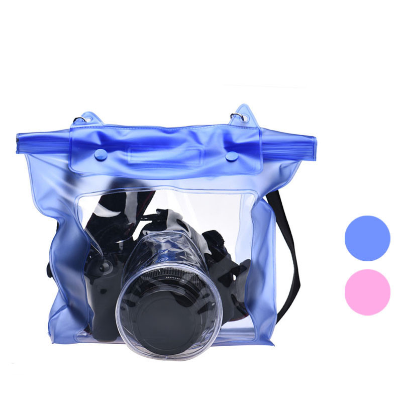 2020 Waterproof Camera DSLR Case Underwater Pouch Bag For Canon For Sony for Nikon for Sports Action Video Cameras Accessories image