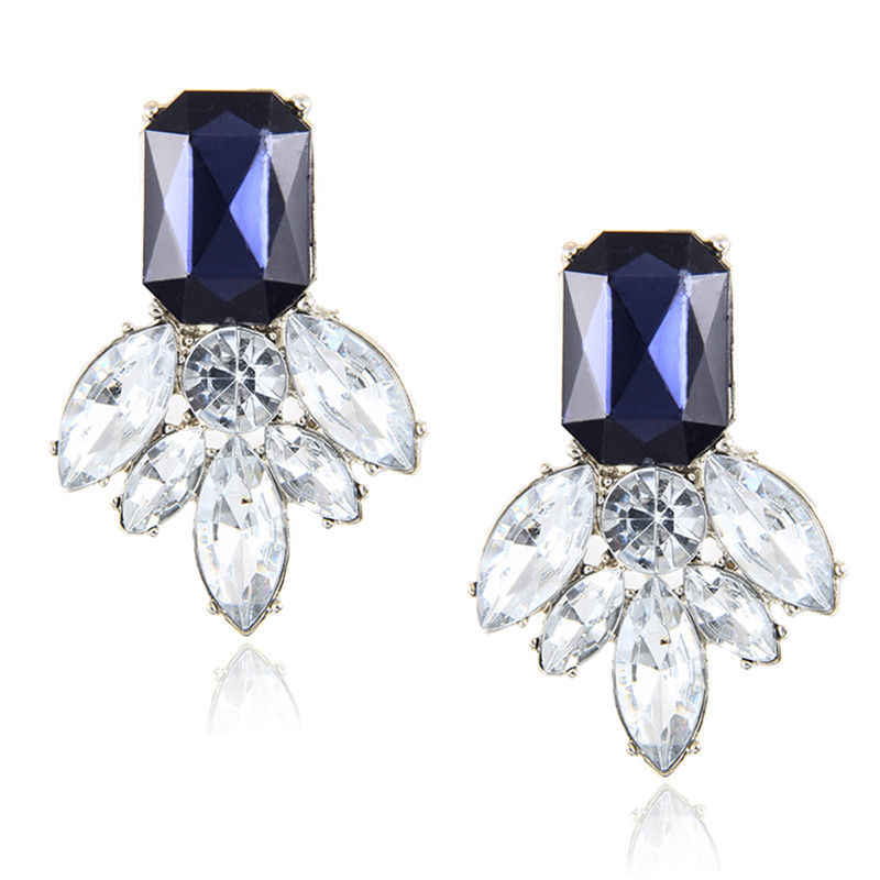 vintage exquisite rhinestone earring woman jewelry classical temperament woman crystal earring accessories e046
