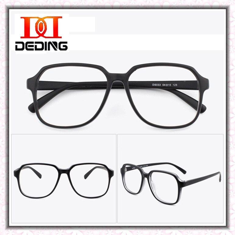 35e233d1d كبير إطار TR90 خفيفة رجل نظارات النظارات البصرية امرأة العين نظارات  Precription عدسة النظارات إطارات Oculos DD0786