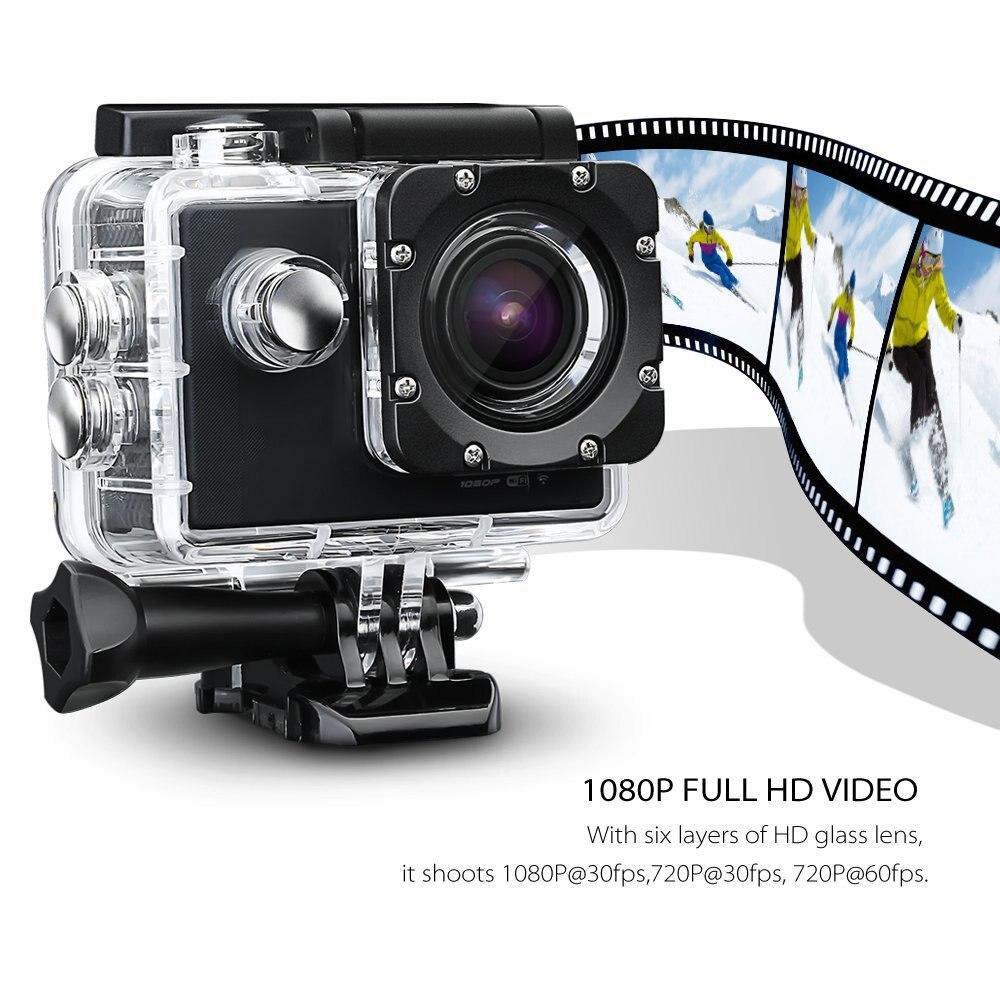 SOOCOO C10S Cam Cámara Impermeable de Deportes de Acción con Wifi Full HD 1080 p