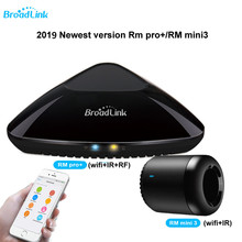 2019 Upgraded Broadlink RM3 RM mini3 RM2 Pro Smart Home Automation WIFI+IR+RF+4G Universal Controller for iOS Android
