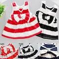 Two-Pcs Toddler Kids Baby Girls Summer Dress Top Sleeveless Dress Pants Outfit Kids Clothes Set