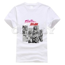 2019 New T-shirt Jojo Bizarre Adventure Thsirt Leisure Japan Anime Cartoon Comics Summer Dress Men Tee Funny T Shirt Cozy