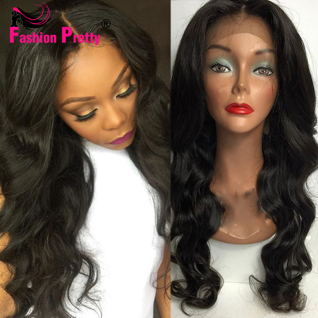 Best Body Wave Silk Base Wig Virgin Brazilian Human Hair Glueless Silk Top  Full Lace Wigs 69998036eb