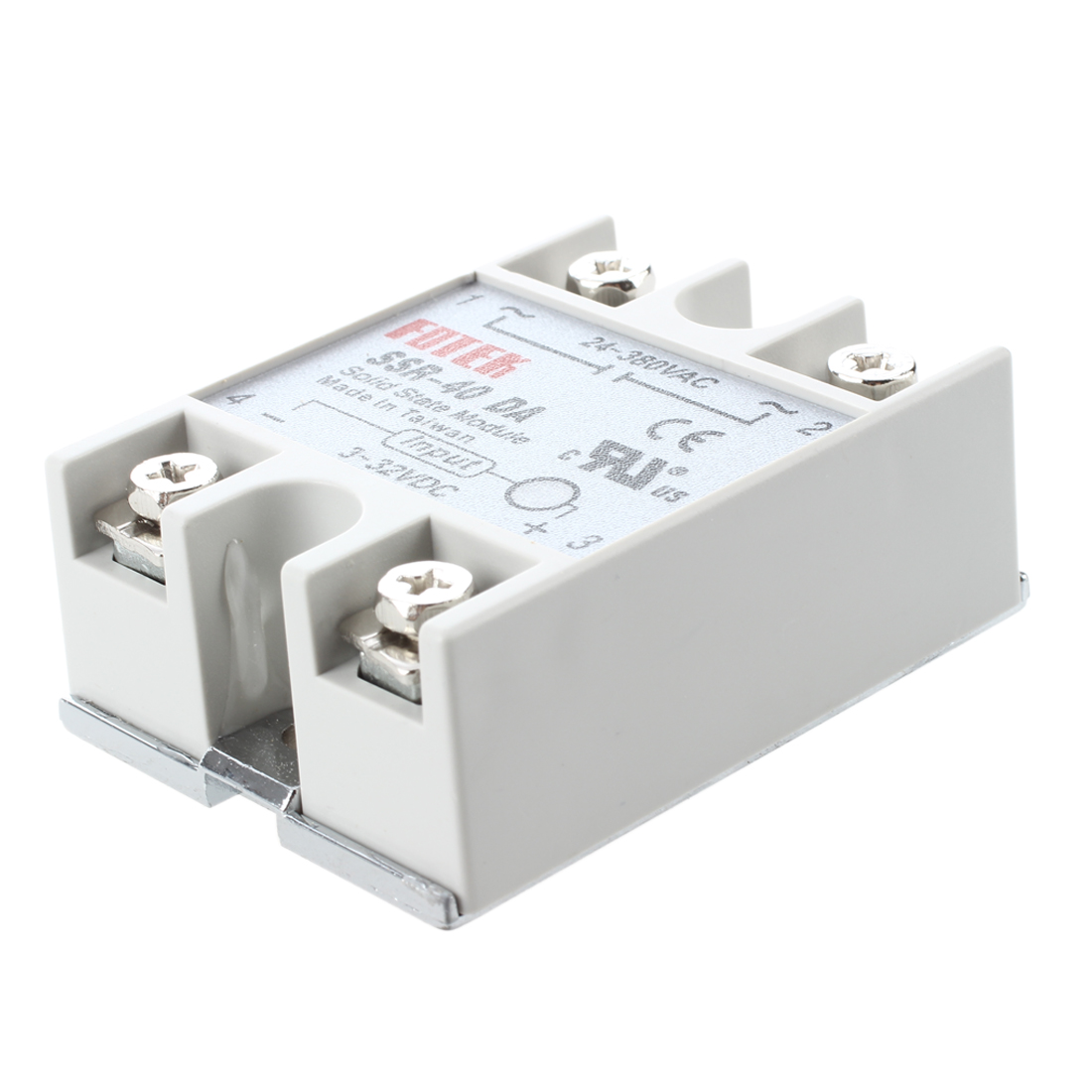 SSR-40DA Solid Relays 3-32V DC / 380V 24-AC / 40A normally open single phase solid state relay ssr mgr 1 d48120 120a control dc ac 24 480v