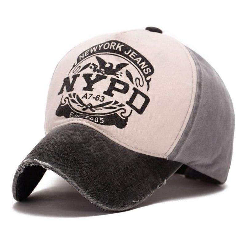 Wholesale Spring Cotton Cap Baseball Cap Snapback Hat Summer Cap Hip Hop Fitted Cap Hats For Men Women Grinding Multicolor