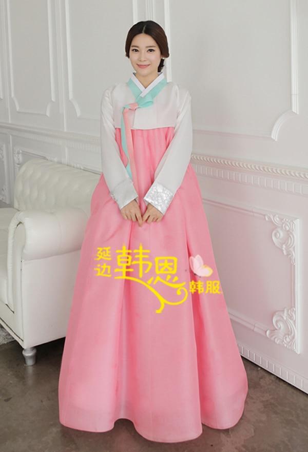 Perfecto Vestido De Boda Coreano Tradicional Friso - Ideas de ...