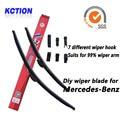 Car Windshield Wiper Blade Para Mercedes-Benz-Classe W176 W169, W245 B W246, C W203 W204, E W211 W212 C207, GLK X204, Viano W639