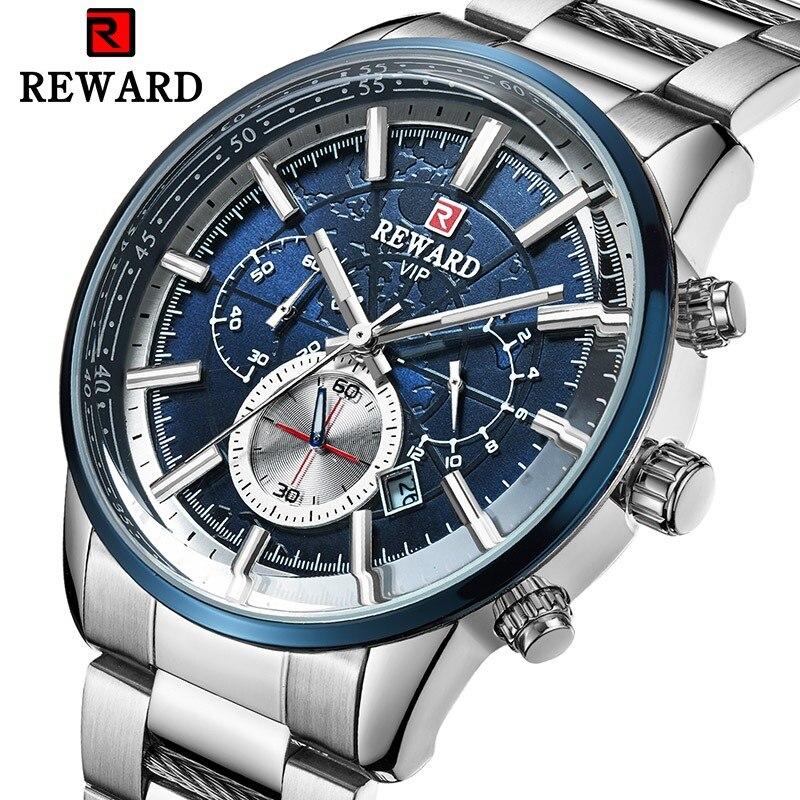 Lumineux Top marque de luxe hommes montres étanche affaires montre homme Quartz chronographe montre-bracelet mâle horloge Relogio Masculino