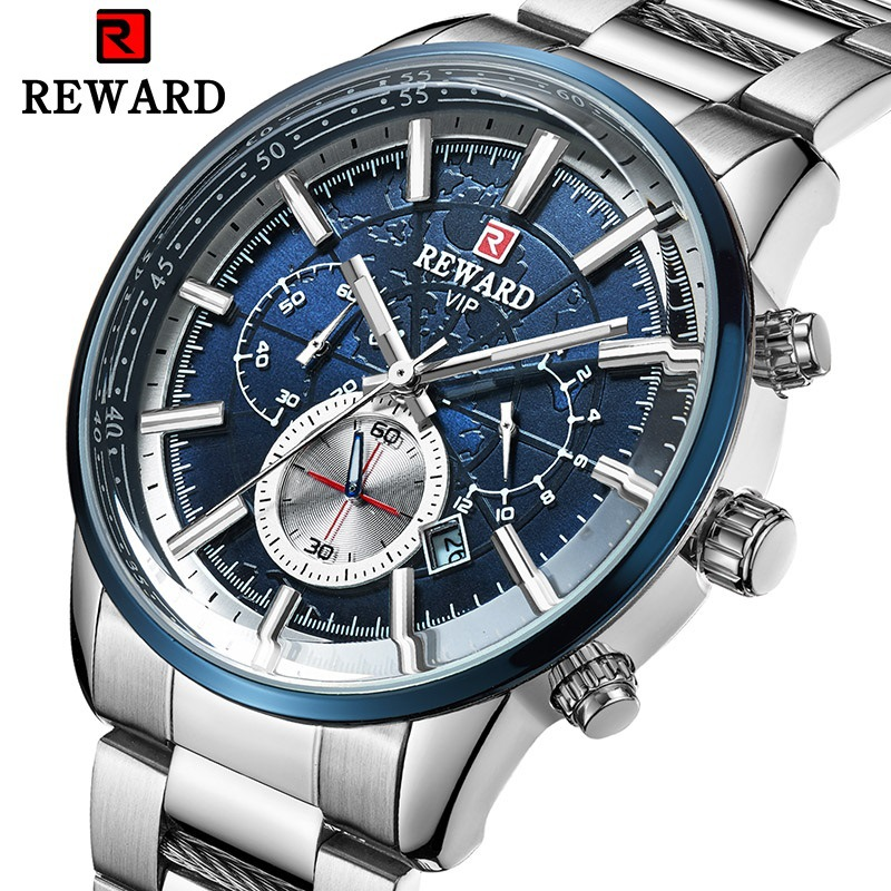 Luminous Top Brand Luxury Mens Watches Waterproof Business Watch Man Quartz Chronograph Wrist Watch Male Clock Relogio Masculino