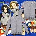 K-on! Dos desenhos animados cosplay casaco camisola diárias Hirasawa Yui / Akiyama Mio / Nakano Azusa camisola roupas cosplay