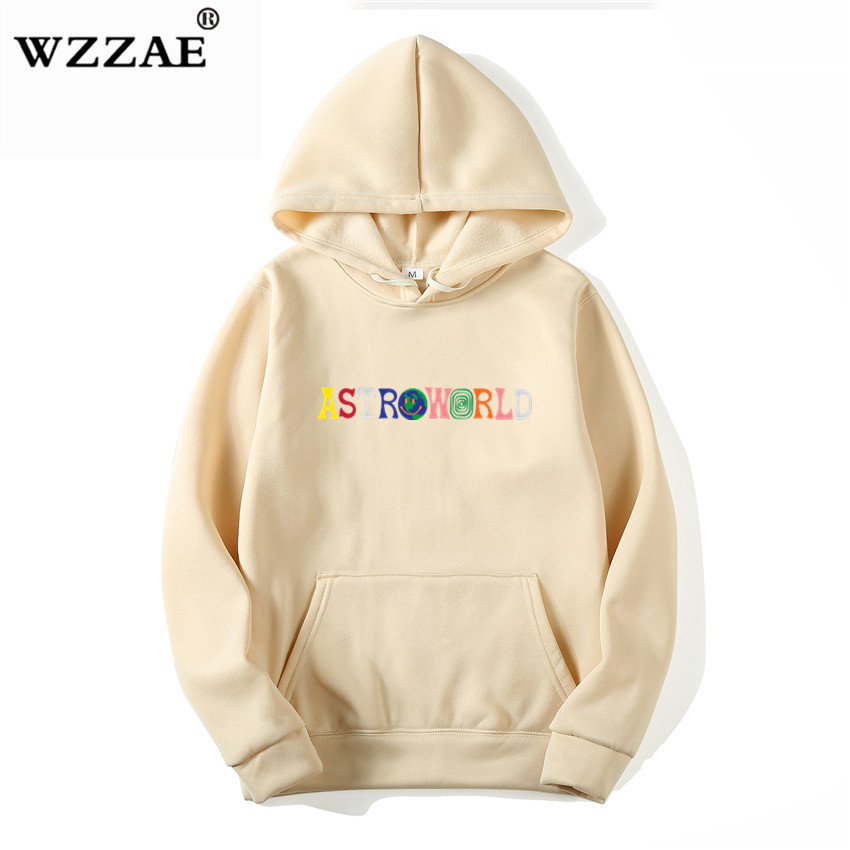 TRAVIS SCOTT ASTROWORLD WISH YOU WERE HERE HOODIES fashion letter ASTROWORLD HOODIE streetwear Man woman Pullover Sweatshirt 4