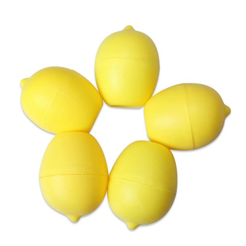 5 x Lemon Sealed Crisper Plastic Storage Refrigerator Food fruit (8)