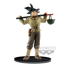 Tronzo Original Banpresto Action Figure Dragon Ball BWFC2 WORLD FIGURE COLOSSEUM Goku PVC Figure Model Toys DBZ Figurine Gifts