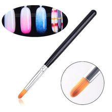 Buy 3d acrylic nail art brush and get free shipping on aliexpress 1pc pro gradient color acrylic uv gel nail art brush pens 3d nail brush diy painting prinsesfo Image collections