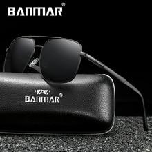 BANMAR BRAND DESIGN Men Sunglasses Polarized Sun Glasses Night Vision Mirror Classic Vintage Male Shades Oculos De Sol UV400