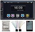 7018B autoradio 2 Din Radio de Coche Reproductor de Vídeo 7 ''HD Bluetooth Retrovisor Estéreo FM MP3 MP4 MP5 Audio USB AUX Auto electrónica