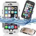 Clip-on impermeable submarinismo natación ip68 hard case para el iphone 6 s 6 s Más 6 Más Coque Cubierta Del Teléfono A Prueba de Agua Capinha